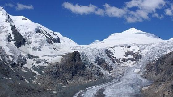 Alpi, i ghiacciai più settentrionali d'Italia si ritirano