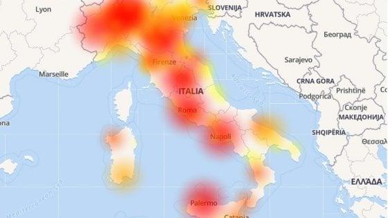 """Vodafone Down, risolti i problemi alla rete. """"Domani regaliamo internet senza limiti"""""""