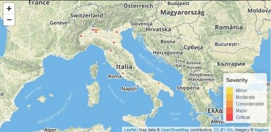Vodafone Down, problemi alla rete in tutta Italia