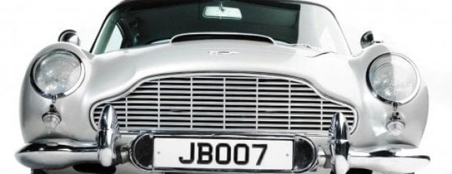 "Aston Martin, va all'asta il mito di James Bond: è l'auto di ""Goldfinger"""
