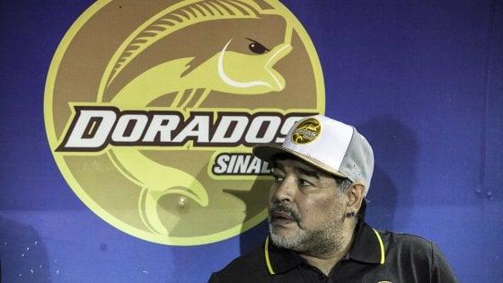 """Messico, Maradona lascia i Dorados: """"Motivi di salute"""""""