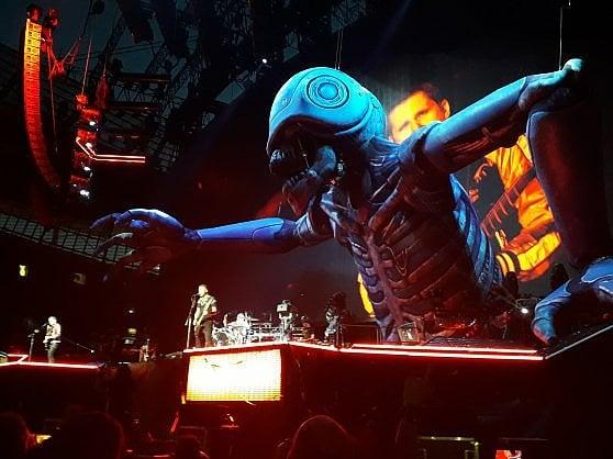 Muse, ecco il nuovo tour kolossal tra Terminator e mostri gonfiabili