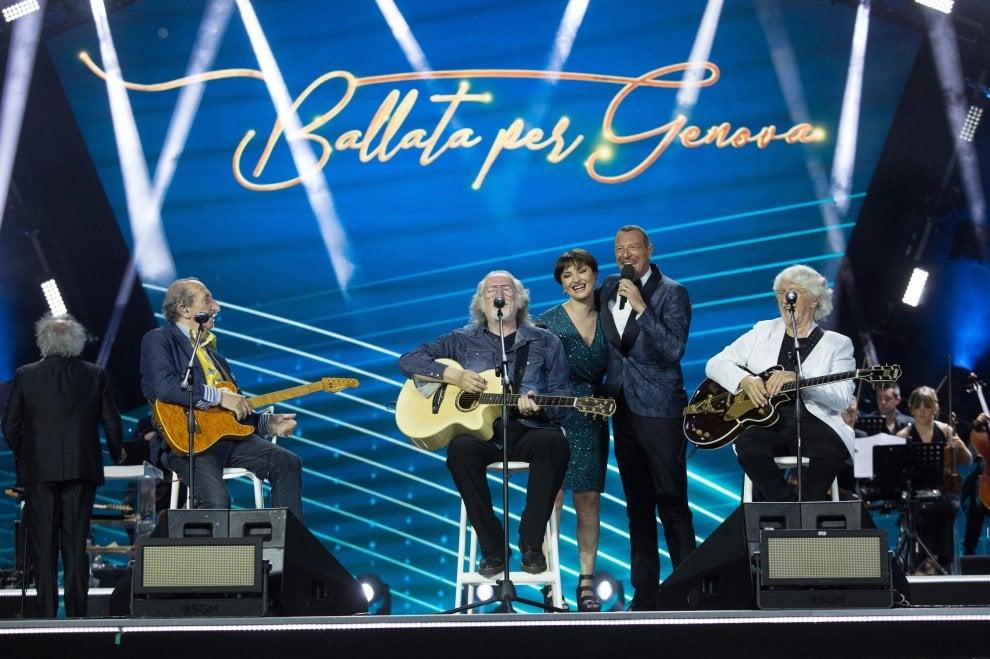 Ballata per Genova, l'abbraccio alla città tra musica e solidarietà