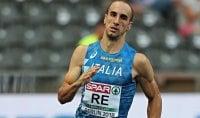 Davide Re stabilisce il record italiano nei 400 metri