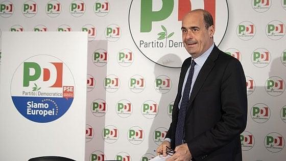 """Pd, Zingaretti vara la segreteria. Il capogruppo renziano al Senato Marcucci attacca: """"Unica matrice identitaria"""""""