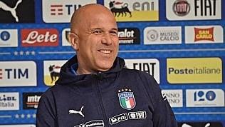 Europei U21, l'Italia domani debutta con la Spagna. Di Biagio: ''Non possiamo accontentarci''