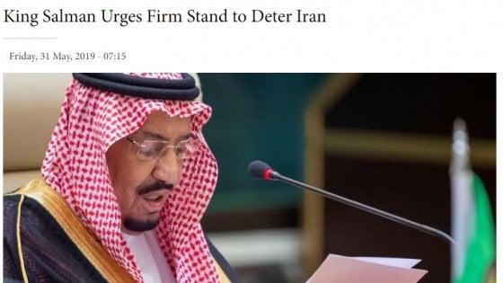 """Attacchi a petroliere, anche Riad accusa: """"E' stato l'Iran"""". Teheran 'convoca' l'ambasciatore britannico"""