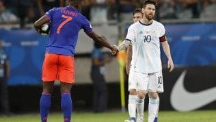 Coppa America, l'Argentina inizia male: battuta dalla Colombia e Zapata fa meglio di Messi