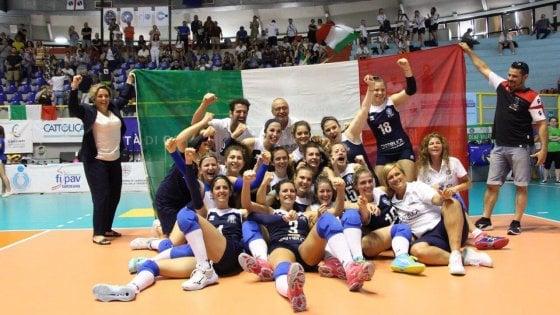 Volley, la nazionale femminile sorde è oro agli Europei: a Cagliari risultato storico per l'Italia