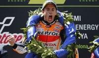 Lorenzo fa fuori tutti i rivali Marquez vince, Petrucci 3°