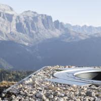 Dolomiti. Un belvedere strategico sopra Santa Cristina