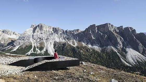 Un balcone panoramico. E vedi le Dolomiti al loro meglio