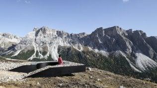 Un balcone panoramico a 2mila metri: le Dolomiti viste al top