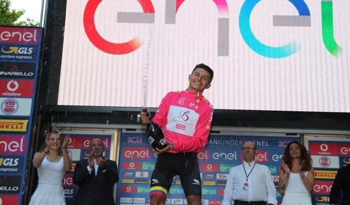 Ciclismo, Giro d'Italia Under 23: Ardila svetta sull'Amiata e si veste di rosa
