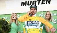 Sagan, colpo doppio in Svizzera: tappa e maglia