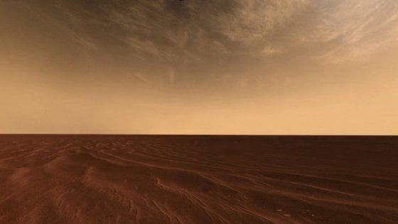 Le nuvole di Marte nascono dal 'fumo' delle meteore