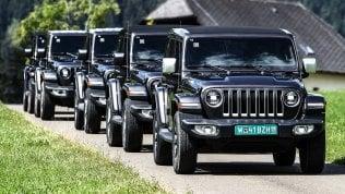 Parco del Valentino 2019, Jeep in prima fila