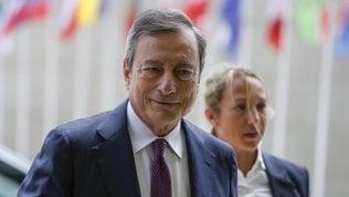 """Draghi: """"Senza miglioramenti saranno necessari nuovi stimoli"""""""