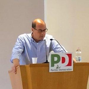 """Pd, Zingaretti fa un appello all'unità: """"Serve tra noi un clima di fiducia per combattere la destra"""""""