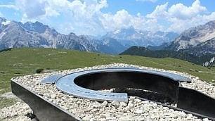Un balcone sulle Dolomiti