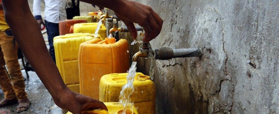Una persona su tre non ha accesso all'acqua potabile e sicura