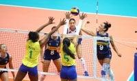 Nations League, azzurre ko contro il Brasile