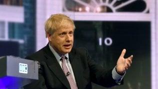 """Boris Johnson ricompare in tv e impone la sua Brexit: """"Il 31 ottobre si esce, anche col No Deal"""""""