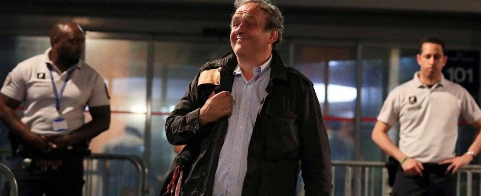 """Michel Platini fermato, corruzione per i Mondiali in Qatar. """"Io estraneo ai fatti"""". Rilasciato nella notte"""