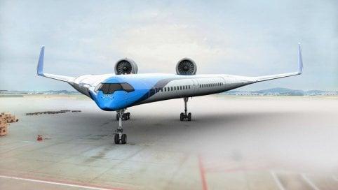 Anteprima Rep: Inquinamento, è in partenza l'aereo più verde del mondo di MARCO TEDESCO