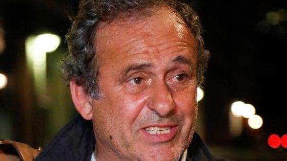 """Platini si difende: """"Così fa male, ma ho risposto a tutto"""""""