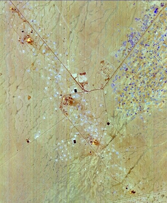 Dagli incendi in Iraq allo stato del Lago Trasimeno. Ecco le prime immagini del satellite italiano Prisma