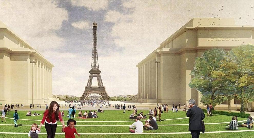 Torre Eiffel: sarà il cuore di un grande parco urbano