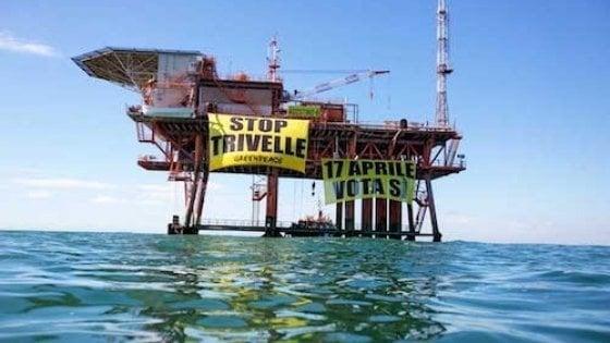 Trivelle: Greenpeace, Legambiente e Wwf pubblicano il piano di dismissione di 34 impianti offshore