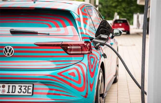 """Volkswagen ID.3, batterie """"on demand"""""""
