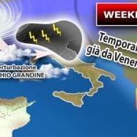 Meteo, temporali prima del caldo africano