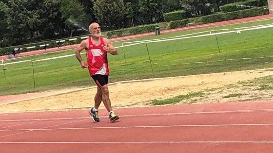 """Stefano, il clochard-runner: """"La corsa ha riacceso la luce nella mia vita"""""""