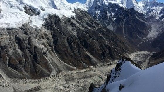 Dal 2000 ghiacciai dell'Himalaya si sciolgono a velocità doppia