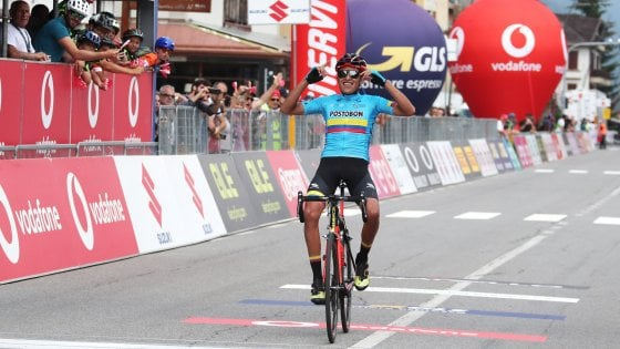 Ciclismo, Giro Under 23: Alba doma il Mortirolo, Ardila a un passo dal trionfo