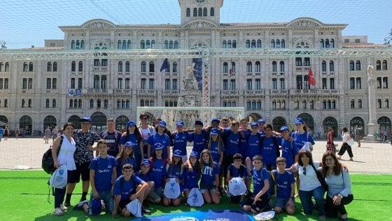 Da Ischia a Trieste per #tifiamoEuropa, premiati gli studenti che imparano col calcio