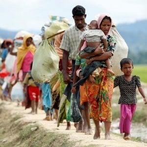 """Myanmar, Rohingya, """"I fallimenti dell'Onu"""": nei campi profughi 128 mila musulmani e 720 mila sono fuggiti in Bangladesh"""