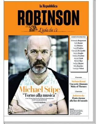 """Rep:Michael Stipe: """"Ho ritrovato la mia religione"""""""