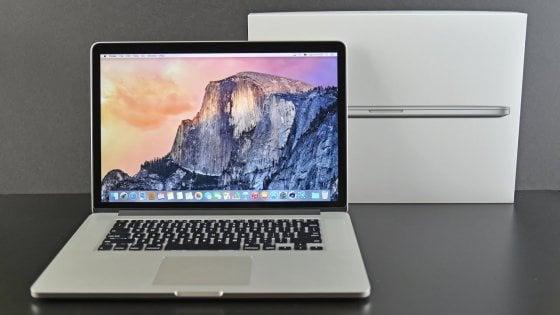 Problemi alla batteria, Apple richiama alcuni MacBook Pro 15 pollici del 2015