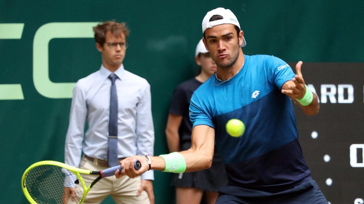 Tennis, non si ferma la marcia di Berrettini: è in semifinale a Halle