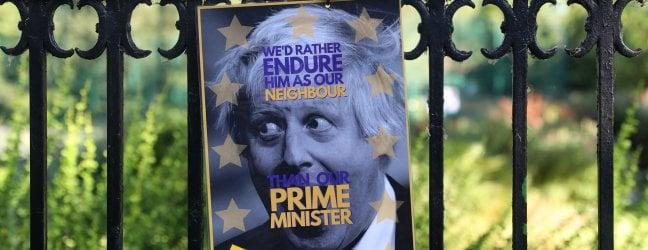 Urla e litigi con la fidanzata, la polizia a casa di Boris Johnson