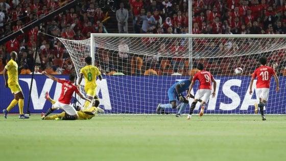 Coppa d'Africa: l'Egitto inizia con il piede giusto, Trezeguet stende lo Zimbabwe