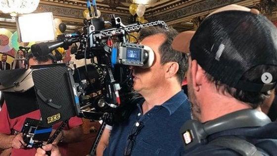 """Gabriele Muccino, la foto sul set con Emma Marrone: """"Ha fatto un lavoro straordinario"""""""