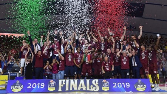 Basket, Venezia campione d'Italia: Sassari crolla in Gara 7