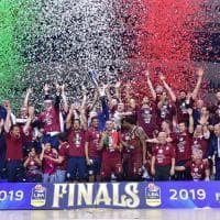 Basket, Venezia campione d'Italia: la festa dei veneti