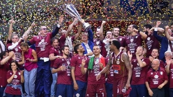 Basket, Venezia campione d'Italia. De Raffaele: ''E' stato bello zittire tutti''