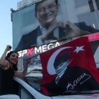 Il candidato dell'opposizione Ekrem Imamoglu conquista (di nuovo) Istanbul: sconfitto...
